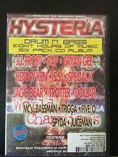 Hysteria Volume 21. Sought after classic drum n bass / jungle 6xCD pack