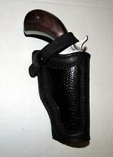 NORTH AMERICAN ARMS 22 MAG MINI  BELT HOLSTER OSTRICH INSET 5- 6 oz.LEATHER