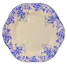 "Shelley English Bone China Iconic Vintage Dainty Blue 6"" Bread Plate EUC"