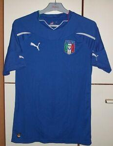 Italy National Team 2010-2012 Home Football shirt jersey Puma