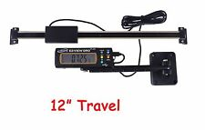 "Igaging 12"" 300mm Digital Readout DRO AC Pwr Preset Articulating Remote Display"