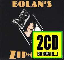 T-REX (2 CD) BOLAN'S ZIP GUN Deluxe Edition ~ MARC BOLIN ~ 70's GLAM ROCK *NEW*