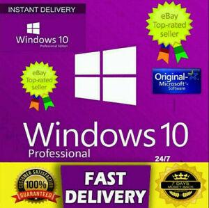 WinsⓄ 10 Pro Professional 32/64 Bit Activation Product Key ✅READ DESCRIPTION✅