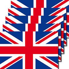 5 Stück 6,5cm Aufkleber Sticker Union Jack Großbritannien EM WM Flaggen Fahnen