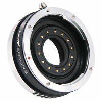 Lens Adapter Aperture for Canon EF EF to Olympus Panasonic Micro Four Thirds M43