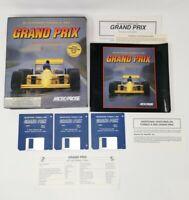 Microprose Grand Prix Boxed Game Commodore Amiga Game Excellent Condition Manual