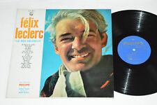 FELIX LECLERC Le Roi Heureux LP 1962 Philips Records Canada Mono B-77.389-L VG