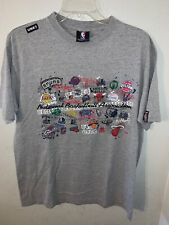 Unk NBA Short Sleeve Shirt Size Medium All Teams Great Condition Grey