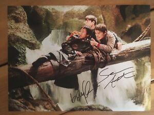 The Goonies Sean Astin & Jonathan Ke Quan Hand Signed 16x12 Photo.