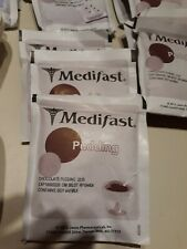 HUGE 49 PIECE LOT MEDIFAST NOT EXPIRED SOFT BAKES SHAKES PUDDINGS AND TRAYS