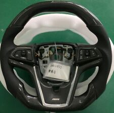 2010 Camaro SS Ferrari Style Real Carbon Flat Bottom Fiber Racing Steering Wheel