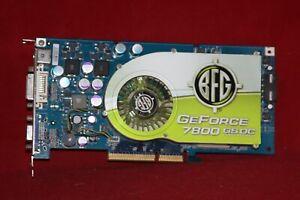 BFG Nvidia GeForce 7800 GS 256MB 256BIT GDDR3 AGP Graphics Card (BFGR78256GSOC)