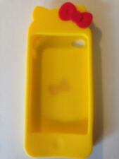 New Cute hello kitty Silicone Cover Case Skin for Apple  iphone 4g 4s 4 case