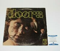 THE DOORS ROBBY KRIEGER & JOHN DENSMORE DUAL SIGNED ALBUM RECORD LP BECKETT COA