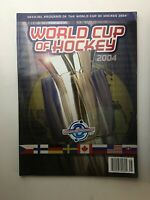 World Cup Of Hockey 2004 Official Program, Game Day Edition