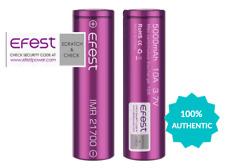 2x Authentic Fest 21700 5000mAh 10A 3.7V Rechargeable Batteries | High Drain