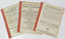RARE LOT DE 3 THESES EN LATIN : DE CARIE OSSIUM ...  MASSON, FOURNIER & BROTBECK