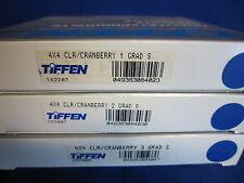 TIFFEN  4X4  FILTER   CRANBERRY GRAD SE  1, 2, 3   (LOT OF 3)