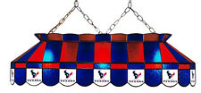 """NFL Houston Texans 40"""" Stained Glass Pool Table Light"""