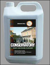 Conservatory UPVC PVCu  Roof and Panel Cleaner Chemicals Direct 1 x 5 Ltr