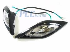 ATV QUAD HEAD LIGHT LIGHTS HEADLIGHT 110CC 200CC BLACK M LT02