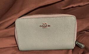 coach purse Duck Egg Blue