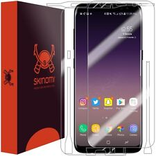 Skinomi FULL BODY Clear Skin+Screen Protector For Samsung Galaxy S8