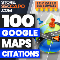 100 Google Map Citations for Local Business SEO Promotion - High Quality 🚀🚀🚀