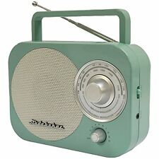 Studebaker Portable AM/FM Radio in Teal STUD-SB2000TE