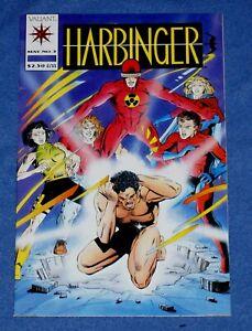 """ HARBINGER # 5 "" VALIANT COMICS, WITH CUPON INTACT, LOW DISTRIBUTION, VFN"