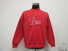Vtg 90s Artex Chicago Bulls Crewneck Sweatshirt sz L Large Jordan Pippen SEWN