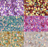 Lots 8mm shiny flowers loose sequins Paillettes sewing Wedding Many Color