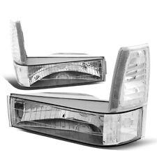 Fit 1989-1994 Ford Ranger/Explorer Front Bumper Corner Light Turn Signal Lamps