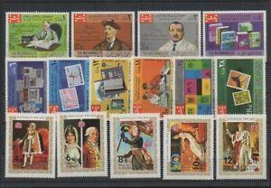 S-196 YEMEN 1968 Stamps Day Philately Heritage Books 1970 Napoleon complete sets