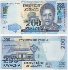 Malawi 200 Kwacha P-60b 2013 UNC Uncirculated Banknote