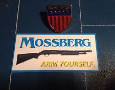 Mossberg Sporting Guns 2017 Shot Show Pin Badge