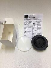 """Elkay LKQD35BK 3.5"""" Disposal Flange with Basket Strainer - Black"""