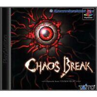 PS1 / Sony Playstation 1 Spiel - Chaos Break mit OVP