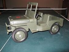 "1964 GI Joe Vintage Hasbro 12"" Adventure Team Dark Green Sandstorm Survival Jeep"