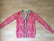 NWOT Juicy Couture 100% Wool Pink Cardigan sz. XS