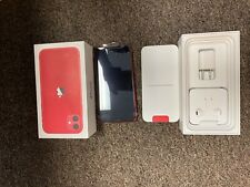 Apple iPhone 11 - 128GB - Product Red (Unlocked) A2111 (CDMA + GSM)