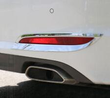 Chrome Rear Fog Light Lamp Cover Reflector Garnish for Hyundai Sonata 2014-17 LF