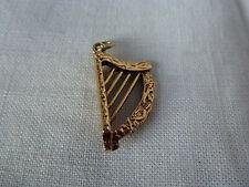 9 CT 9 Ct Or Jaune Charme traditionnel, harpe celtique musique