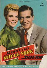 Fotofilm de Bolsillo N° 19/1959 - Minetras Nueva York Duerme, F. Lang D. Andrews