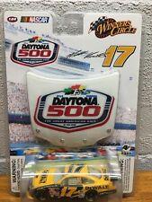 2009 Matt Kenseth #17 Winner's Circle Ford 1:64 DAYTONA 500-Dewalt-New With hood