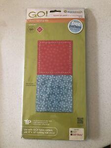 Accuquilt Square Fabric Die Cutter FREE POSTAGE IN AUSTRALIA