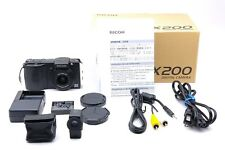 Ricoh Caplio GX200 VF-1 + Box + Ricoh LC-1 + Accessories -Excellent F/S