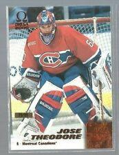 1999-00 Pacific Omega Copper #123 Jose Theodore 79/99 (ref53963)