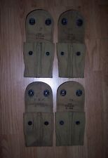 Original WWI Ammo Pouches Date Stamped 1918 Good Condition   100 ys old REDUCED