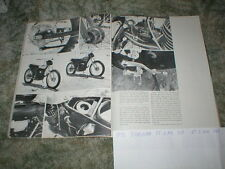 1972 Yamaha Motocross Rt-2 & Dt-2 Mx Cycle Road Test Article 7 pgs